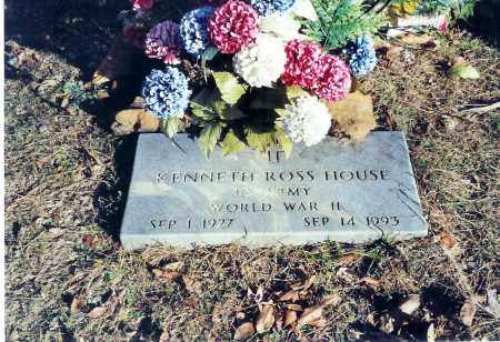 HOUSE (VETERAN WWII), KENNETH ROSS - Sevier County, Arkansas | KENNETH ROSS HOUSE (VETERAN WWII) - Arkansas Gravestone Photos
