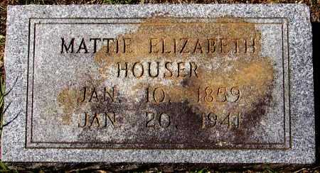 "SHARPE HOUSER, MATTIE ELIZABETH ""MAT"" - Sevier County, Arkansas 