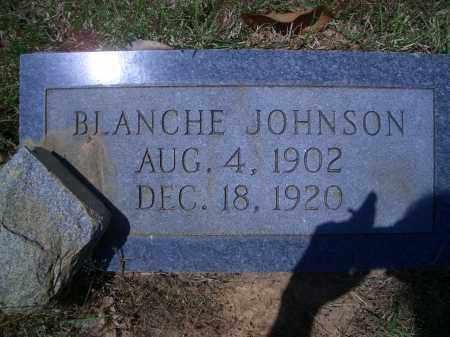 JOHNSON, BLANCHE - Sevier County, Arkansas | BLANCHE JOHNSON - Arkansas Gravestone Photos