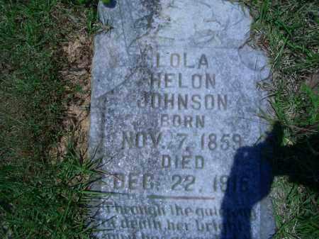 JOHNSON, LOLA HELON - Sevier County, Arkansas | LOLA HELON JOHNSON - Arkansas Gravestone Photos