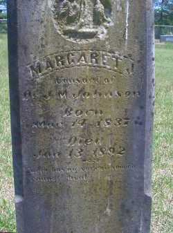 JOHNSON, MARGARET J - Sevier County, Arkansas | MARGARET J JOHNSON - Arkansas Gravestone Photos