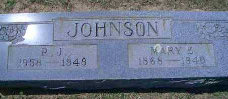 JOHNSON, MARY E - Sevier County, Arkansas | MARY E JOHNSON - Arkansas Gravestone Photos