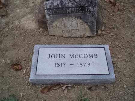 MCCOMB, JOHN - Sevier County, Arkansas | JOHN MCCOMB - Arkansas Gravestone Photos