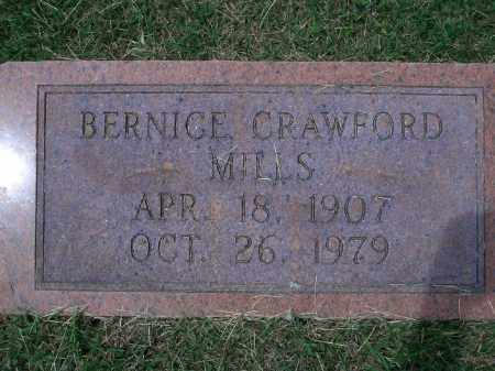 CRAWFORD MILLS, BERNICE - Sevier County, Arkansas | BERNICE CRAWFORD MILLS - Arkansas Gravestone Photos