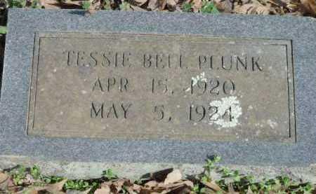 PLUNK, TESSIE BELL - Sevier County, Arkansas | TESSIE BELL PLUNK - Arkansas Gravestone Photos