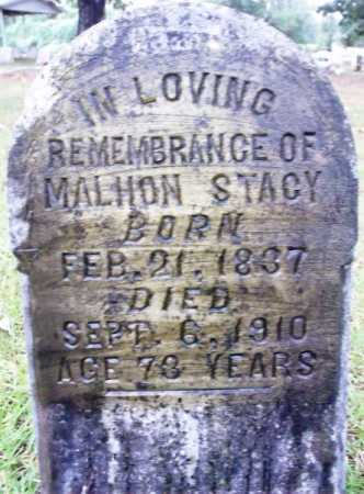 STACY  (VETERAN CSA), MALHON - Sevier County, Arkansas | MALHON STACY  (VETERAN CSA) - Arkansas Gravestone Photos