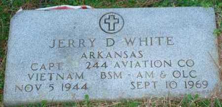 WHITE (VETERAN VIET, KIA), JERRY D - Sevier County, Arkansas | JERRY D WHITE (VETERAN VIET, KIA) - Arkansas Gravestone Photos