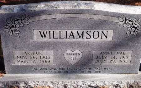 WILLIAMSON, ANNIE MAE - Sevier County, Arkansas | ANNIE MAE WILLIAMSON - Arkansas Gravestone Photos