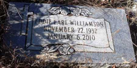 WILLIAMSON, EDDIE EARL - Sevier County, Arkansas | EDDIE EARL WILLIAMSON - Arkansas Gravestone Photos