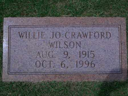 WILSON, WILLIE JO - Sevier County, Arkansas | WILLIE JO WILSON - Arkansas Gravestone Photos