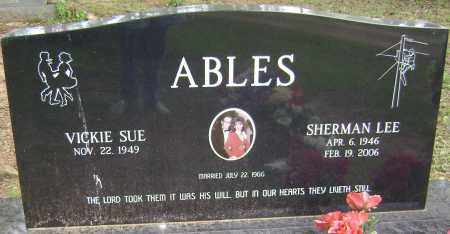 ABLES, SHERMAN LEE - Sharp County, Arkansas | SHERMAN LEE ABLES - Arkansas Gravestone Photos