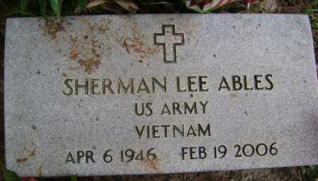 ABLES (VETERAN VIET), SHERMAN LEE - Sharp County, Arkansas | SHERMAN LEE ABLES (VETERAN VIET) - Arkansas Gravestone Photos