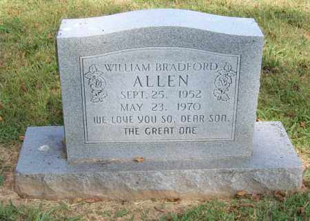ALLEN, WILLIAM BRADFORD - Sharp County, Arkansas | WILLIAM BRADFORD ALLEN - Arkansas Gravestone Photos