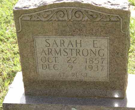 ARMSTRONG, SARAH E. - Sharp County, Arkansas | SARAH E. ARMSTRONG - Arkansas Gravestone Photos