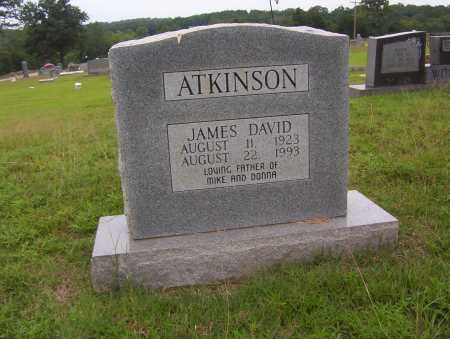 ATKINSON, JAMES DAVID - Sharp County, Arkansas | JAMES DAVID ATKINSON - Arkansas Gravestone Photos