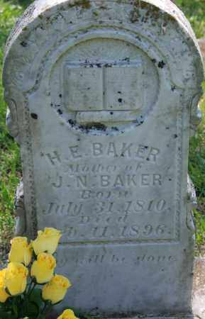 BAKER, H. E. - Sharp County, Arkansas | H. E. BAKER - Arkansas Gravestone Photos