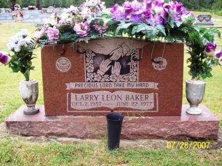 BAKER, LARRY LEON - Sharp County, Arkansas | LARRY LEON BAKER - Arkansas Gravestone Photos