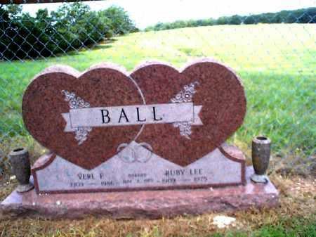 BALL, RUBY LEE - Sharp County, Arkansas | RUBY LEE BALL - Arkansas Gravestone Photos