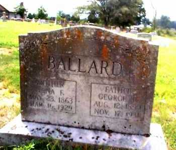 BALLARD, LENA F. - Sharp County, Arkansas | LENA F. BALLARD - Arkansas Gravestone Photos