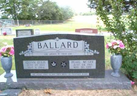 MCGEE BALLARD, PEARL - Sharp County, Arkansas | PEARL MCGEE BALLARD - Arkansas Gravestone Photos