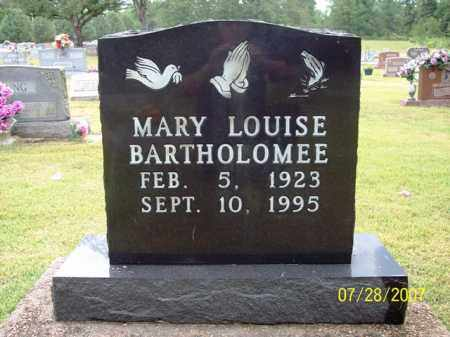 BARTHOLOMEE, MARY LOUISE - Sharp County, Arkansas | MARY LOUISE BARTHOLOMEE - Arkansas Gravestone Photos