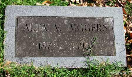 BIGGERS, ALTA V. - Sharp County, Arkansas | ALTA V. BIGGERS - Arkansas Gravestone Photos