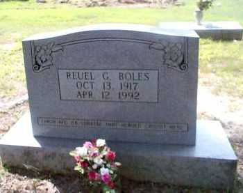 BOLES, REUEL G. - Sharp County, Arkansas | REUEL G. BOLES - Arkansas Gravestone Photos