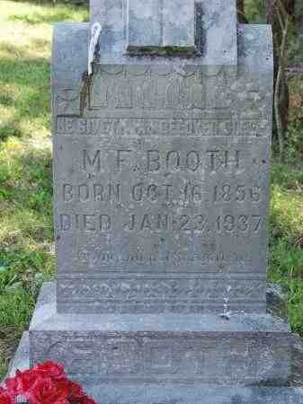BOOTH, MILTON F. - Sharp County, Arkansas | MILTON F. BOOTH - Arkansas Gravestone Photos