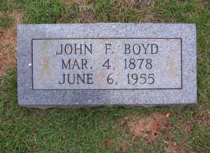 BOYD, JOHN FRANKLIN - Sharp County, Arkansas | JOHN FRANKLIN BOYD - Arkansas Gravestone Photos