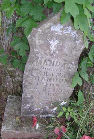 BRANDON, AMANDA L - Sharp County, Arkansas | AMANDA L BRANDON - Arkansas Gravestone Photos
