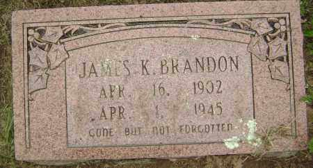 BRANDON, JAMES K - Sharp County, Arkansas | JAMES K BRANDON - Arkansas Gravestone Photos