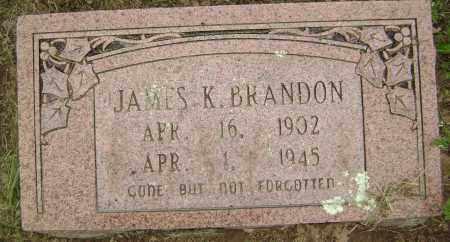 BRANDON, JAMES K - Sharp County, Arkansas | JAMES K BRANDON - Arkansas Gravestone Photos