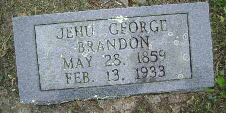 BRANDON, JEHU GEORGE - Sharp County, Arkansas | JEHU GEORGE BRANDON - Arkansas Gravestone Photos