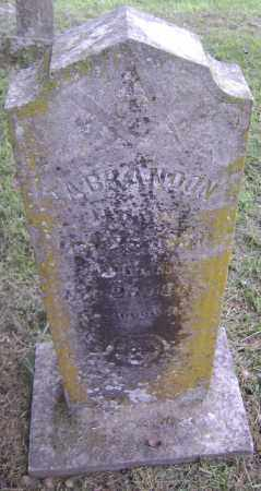 "BRANDON, THOMAS A. ""T. A."" - Sharp County, Arkansas   THOMAS A. ""T. A."" BRANDON - Arkansas Gravestone Photos"