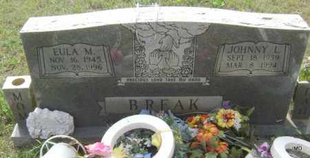 BREAK, EULA M - Sharp County, Arkansas | EULA M BREAK - Arkansas Gravestone Photos