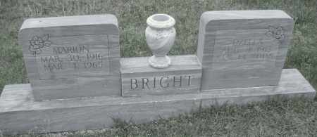 BRIGHT, JESSE MARION - Sharp County, Arkansas | JESSE MARION BRIGHT - Arkansas Gravestone Photos