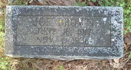 BROWN, JOE - Sharp County, Arkansas | JOE BROWN - Arkansas Gravestone Photos