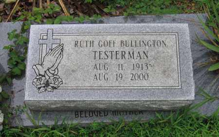BULLINGTON, RUTH - Sharp County, Arkansas | RUTH BULLINGTON - Arkansas Gravestone Photos