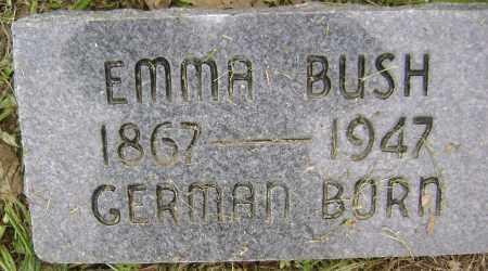 BUSH, EMMA - Sharp County, Arkansas | EMMA BUSH - Arkansas Gravestone Photos