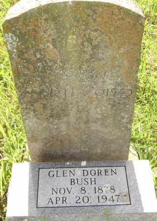 BUSH, GLEN DOREN - Sharp County, Arkansas   GLEN DOREN BUSH - Arkansas Gravestone Photos