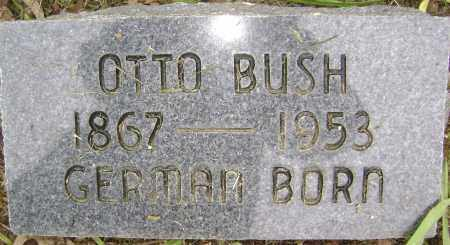 BUSH, OTTO - Sharp County, Arkansas | OTTO BUSH - Arkansas Gravestone Photos