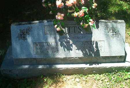 BUTTS, JUNA F. - Sharp County, Arkansas | JUNA F. BUTTS - Arkansas Gravestone Photos