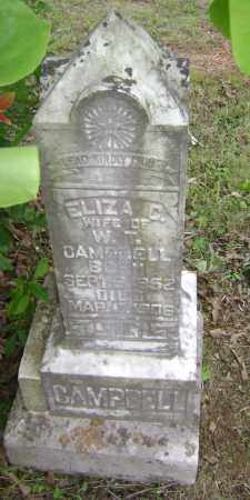CAMPBELL, ELIZA C - Sharp County, Arkansas | ELIZA C CAMPBELL - Arkansas Gravestone Photos