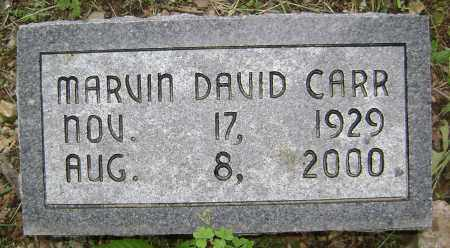 CARR, MARVIN DAVID - Sharp County, Arkansas | MARVIN DAVID CARR - Arkansas Gravestone Photos
