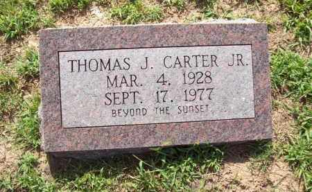CARTER, JR, THOMAS JEFFERSON - Sharp County, Arkansas | THOMAS JEFFERSON CARTER, JR - Arkansas Gravestone Photos