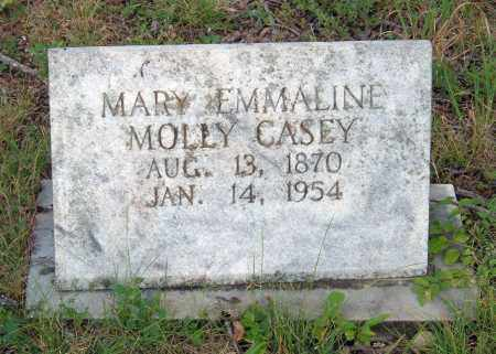 CASEY, MARY EMMALINE MOLLY - Sharp County, Arkansas | MARY EMMALINE MOLLY CASEY - Arkansas Gravestone Photos