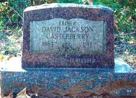 CASTLEBERRY, DAVID JACKSON - Sharp County, Arkansas | DAVID JACKSON CASTLEBERRY - Arkansas Gravestone Photos
