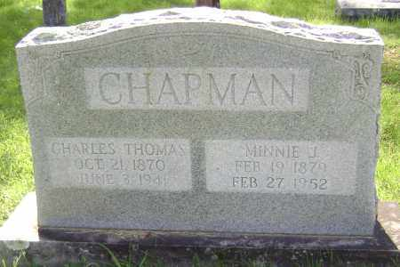 CHAPMAN, MINNIE J. - Sharp County, Arkansas | MINNIE J. CHAPMAN - Arkansas Gravestone Photos