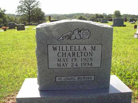 CHARLTON, WILLELLA M - Sharp County, Arkansas | WILLELLA M CHARLTON - Arkansas Gravestone Photos