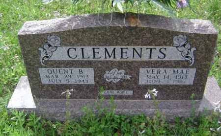 CLEMENTS, VERA MAE - Sharp County, Arkansas | VERA MAE CLEMENTS - Arkansas Gravestone Photos